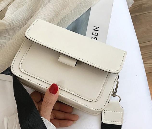Sul nuovo piccolo sacchetto femminile 2020 di Newset Saluto Ins selvaggio spalla larga Tracolla Piccola Piazza Borsa retrò singolo Messenger