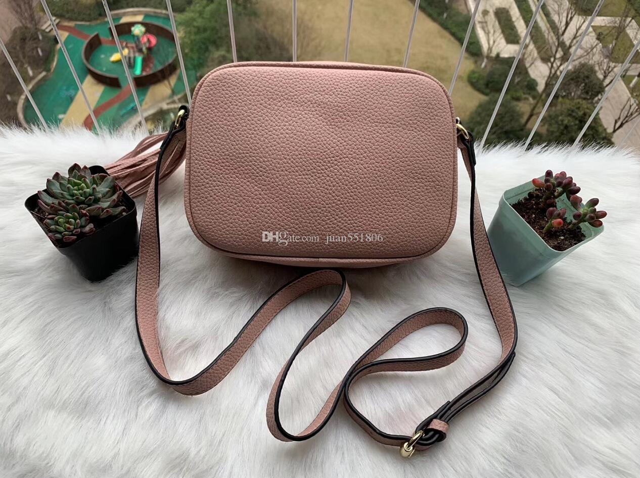 Borse raccoglitore di alta qualità borsa famosa delle donne delle borse dei sacchetti di Crossbody Bag Soho Disco Borsa a tracolla con frange borsa borsa
