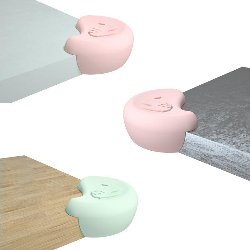 Saug-Dunstabzugshaube Autoklebstofffreien Anti-Kinder klopfen Corner-Schutz-Baby-Anti-Treffen nützliches Produkt Silica Gel Cornerite