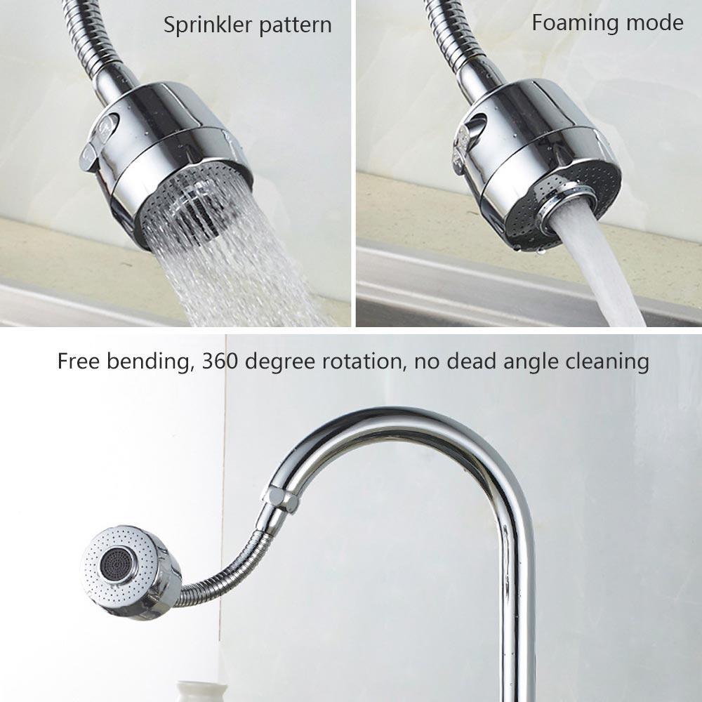 360 gradi Rotary Cucina Splash rubinetto del bagno Spray-doccia filtro per l'acqua tocca il risparmio rubinetto Bubble filtro aeratore ugello