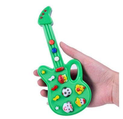 Compre Dhl 144 Unids Nueva Moda De Dibujos Animados De Juguete De Guitarra Guitarra Eléctrica De Alta Calidad Niños Instrumentos Musicales Juguetes