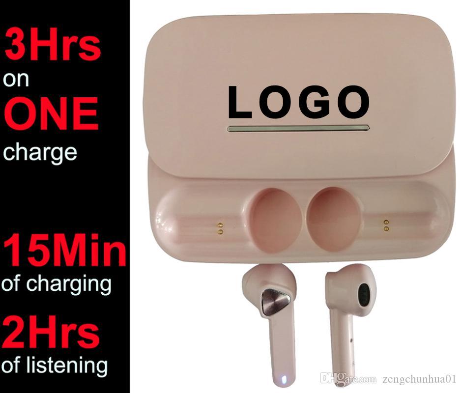 Custom Made Mini TWS Earbuds 3 Hours listen Bluetooth Wireless Earphone #30Hrs with charging case# PK i7 i8 i9 i10 i12 i500