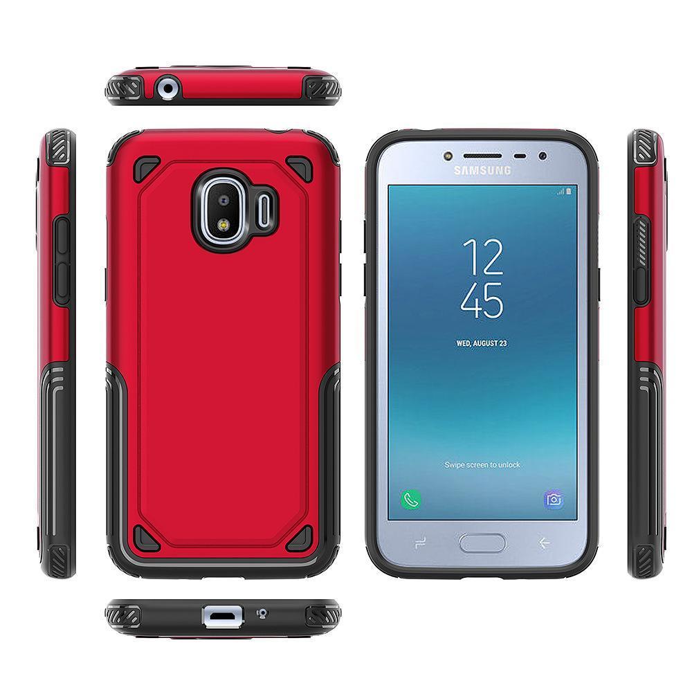 Para Samsung Galaxy J8 J6 J4 J2 Pro A8 A6 Além disso J7 NEO 2018 Híbrido robusto Armadura Phone Case Capa protetora Shell