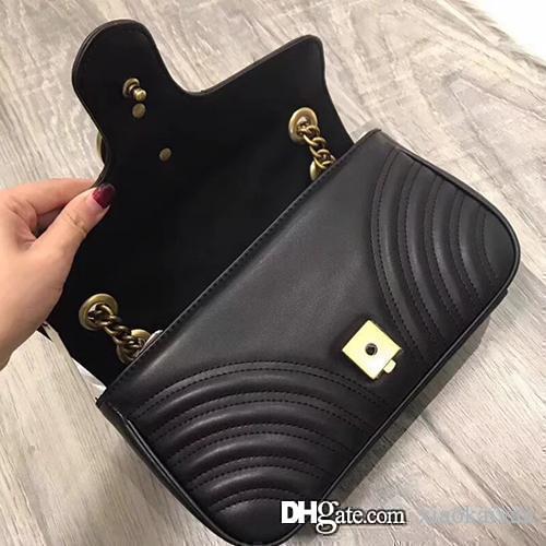 Женщины известный бренд настоящая сумка Marmont сумки на ремне, роскошные дизайнерские сумки высокого качества, цепочка, сумка через плечо, Италия кожаные сумки новое поступление