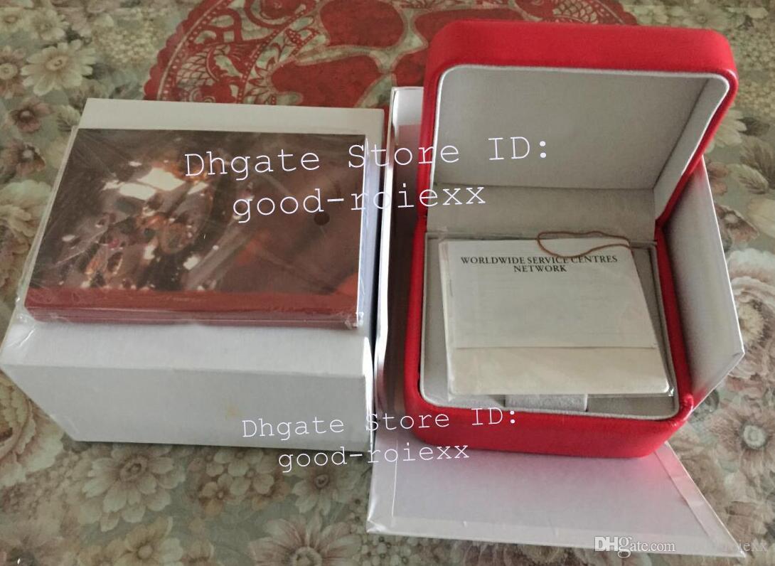 Reloj de señoras para hombre Bolsos originales de la caja Bolsos de tarjetas para mujeres Relojes suizos Terra James 007 ETA Manual Apnea relojes tag-booklet