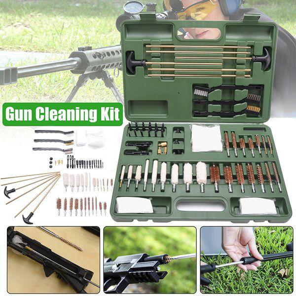 Gun Cleaning Kit For Rifle Pistol Handgun Shotgun Cleaning Set Gun Brush Tool/_fr