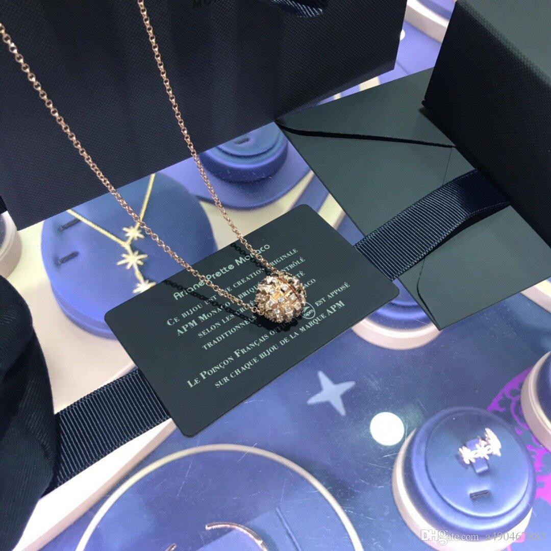 New alta qualidade engrenagem grife marca colar de pingente de forma para os homens de moda e mulheres e casais presentes