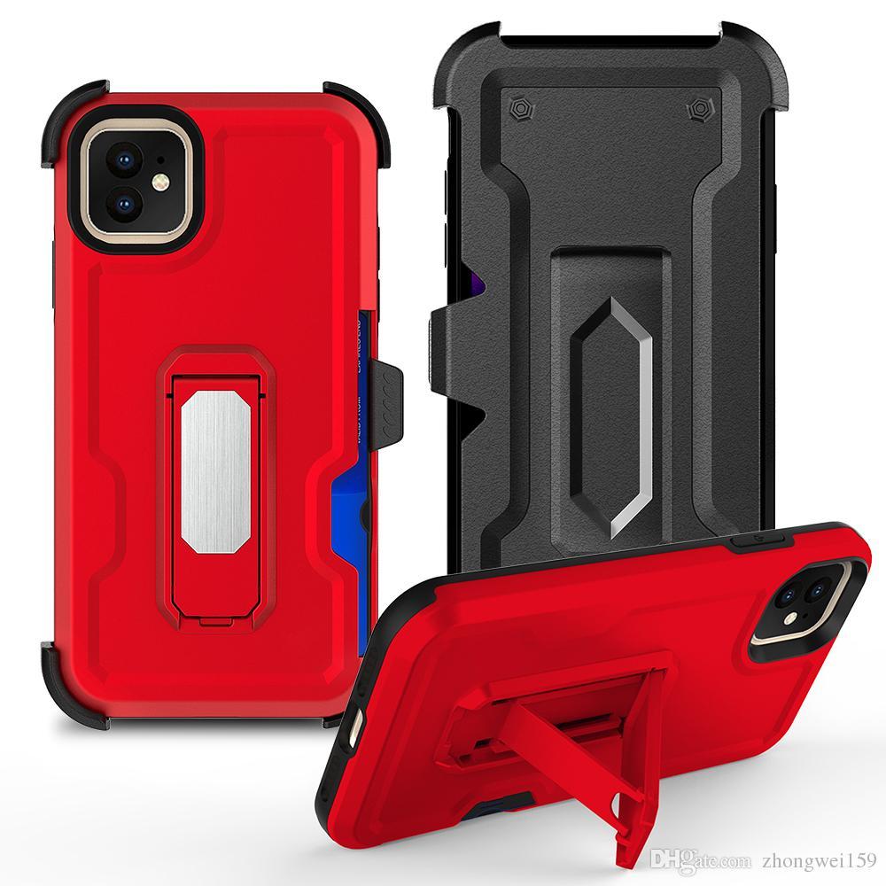 SERIN TASARıMı 2019 YENI HÜCRE Telefon Kılıfı için iPhone Xsmax Durumda Araç Tutucu Standı Manyetik Dirsek Durumda Parmak Yüzük TPU + PC Arka Kapak