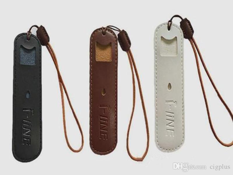 Vape RELX NRX2 MT PHIX BO için deri kılıf düz vape pod kalem siyah amber renk e sigara taşıma çantası çanta ucuz fiyat