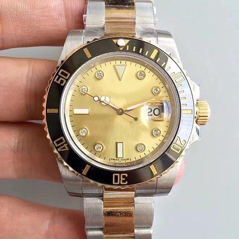 reloj de zafiro acero inoxidable de múltiples funciones mecánico automático con el marco superior de los hombres de cerámica de lujo, nuevo reloj mecánico de 2020