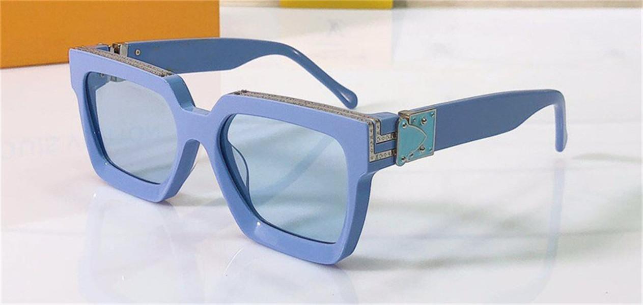 Men design sunglasses millionaire square frame top quality outdoor avant-garde hot sale wholesale style glasses with case 96006