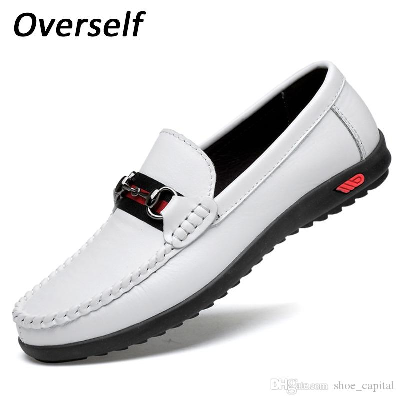 Men Genuine Leather Loafers Fashion