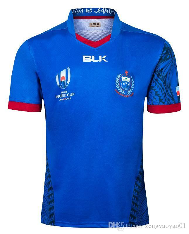 Samoa Accueil Rugby Maillots de Rugby League chemise jersey union Samoa Ligue Nationale de Rugby taille chemises S-3XL