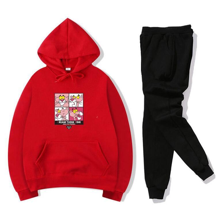 88Women Trousers suit Letter Print Sweatshirt + Pants Two-piece Set Women Jogging Sport Suit for Ladies Leisure Tracksuit