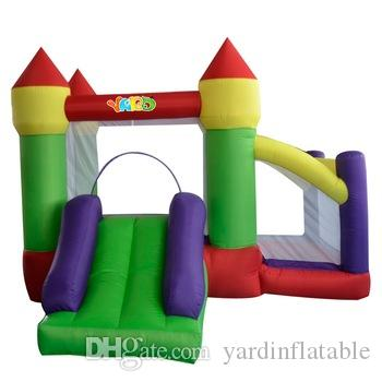 YARD Home Use Inflatable Trampoline Inflatable House Jumping Combo Bounce House Bouncy Castle Slide for Kids