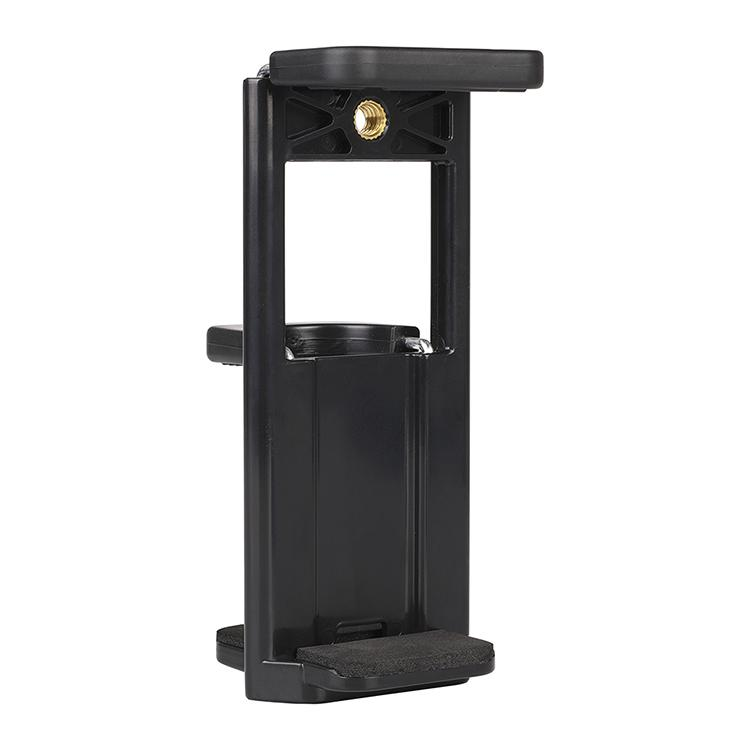 Tablet PC Stands 1/4 Screw head hole universal interface Mount Mobile Phone Clip Holder Tablet Holder Clip Up to 20CM for ipad cilp clamp