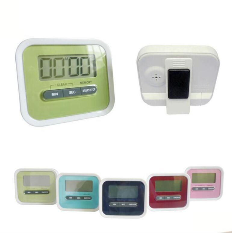 Minuterie numérique batterie Operated LCD Minute Seconde Compte à rebours Rappel de cuisson Temps OOA7962 d'alarme