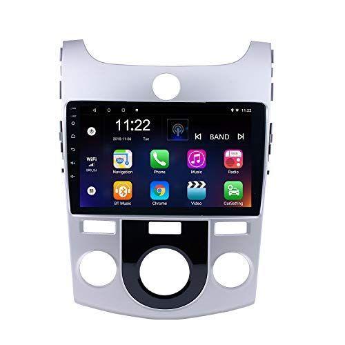 Araba Radyo 9 inç Android 9.0 2008-2012 KIA Forte MT Navigasyon Sistemi Destek Carplay Dijital TV DVR Dikiz Kamera için
