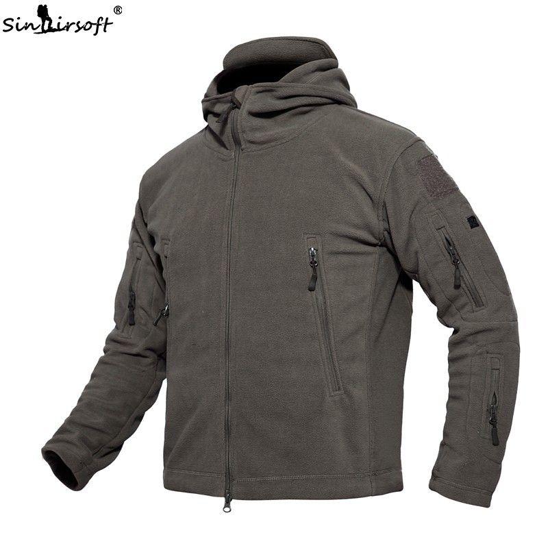 Taktische Uniform Outdoor Softshell Fleece Hoody Jacke Jaket Männer Thermische Jagdbekleidung Hoodies Camping Wandern