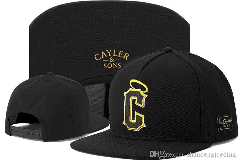 Più nuovo modo classico Cayler Sons Snapback protezioni registrabili del berretto da baseball di svago per gli uomini donne Basketball cappelli di snapbacks del cappello di Hip hop
