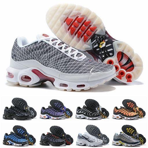 2019 nike air max Tn Plus Ultra Se airmax Chaussures De Course Pour Hommes Tns Orange Bleu Pourpre Hommes Designer Sport Baskets Sneakers Chaussures Zapatillas Taille 40-46