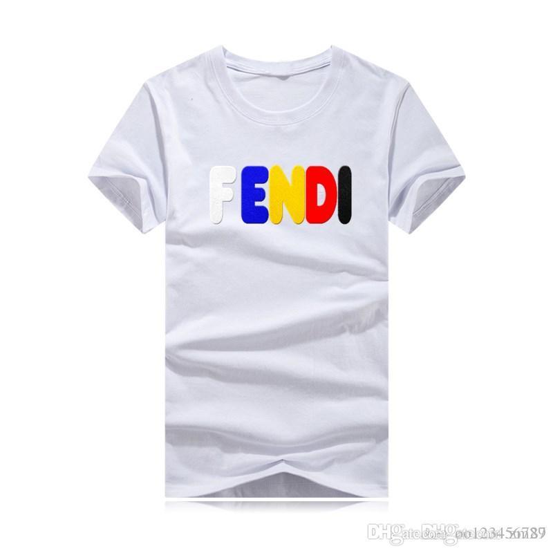 2019 heißen Verkauf-klassische Mann-T-Shirt kurze Hülse O Ansatz der Männer Der T-Shirt Cotton Tees Tops Mens Marke T-Shirt plus Größe S 4XL Sweatshirts