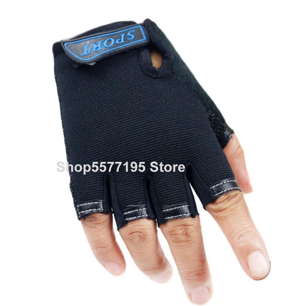 Sport-Handschuhe für Kinder Halbfinger Kinder Fäustlinge Jungen Mädchen fingerless Cartoon-Handschuhe für 5-13 Jahre Kid 2020 Neu