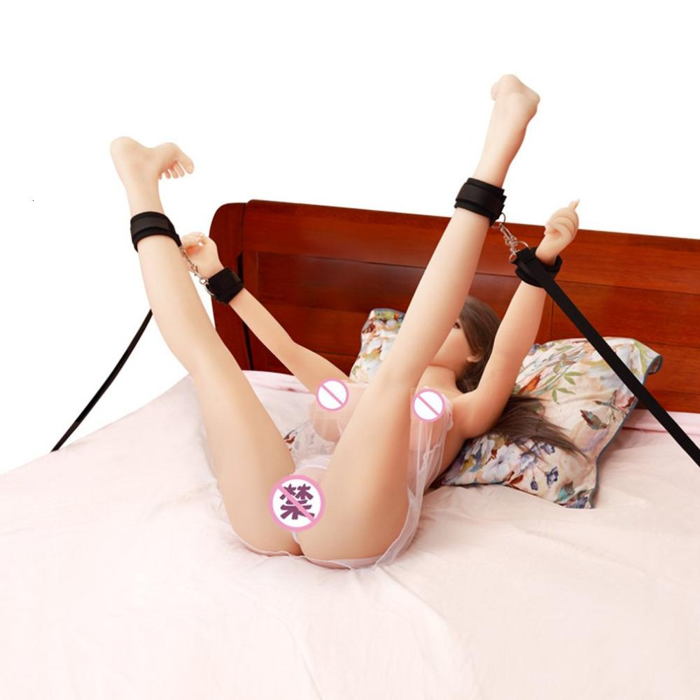 Adultos multifuncionales Pareja de productos para sistemas eróticos Restricción Sexy bondage Tobillos de tobillo Juguetes sexuales Juegos de cama T191202 Uhakl