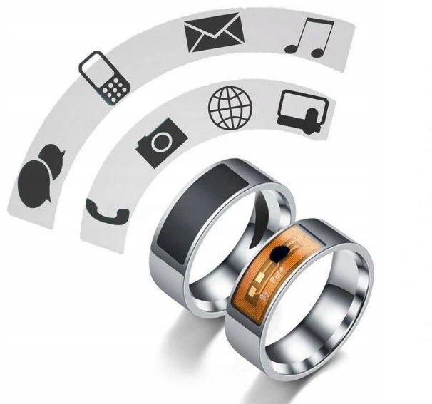 Bague Retail Intelligence intelligente magie doigt carte à puce ID module NFC Smart-Ring-montre pour Smartphone avec NFC résistant à l'eau