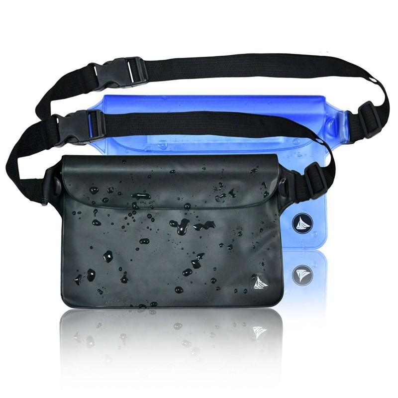 Esportes ao ar livre Camping Escalada Caminhadas cintura sacos saco impermeável Bolsa seco caso com ombro cintura Strap Pacote Balight Unisex
