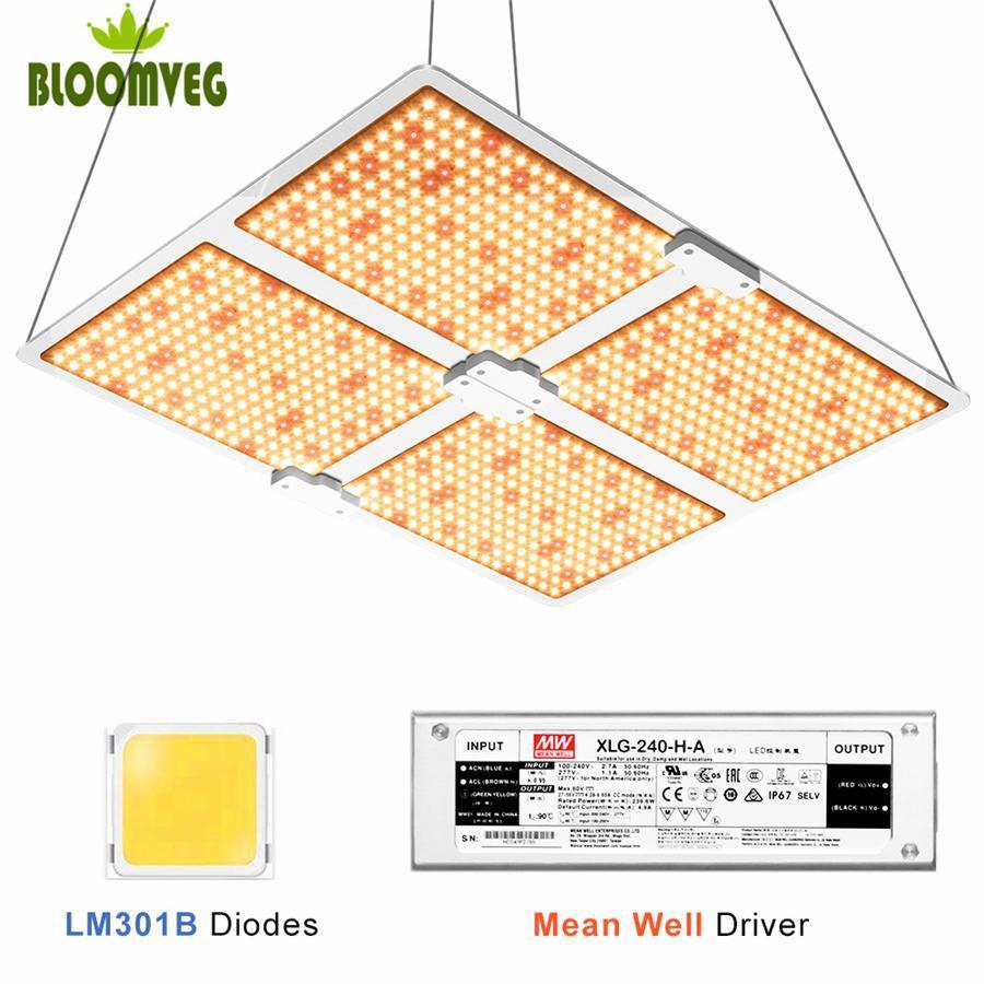 Grow luzes LED 1000 2000 3000 Samsung301b Quantum Lamp Planta Conselho Bq3000 a primeira escolha para Indoor cultivo de plantas medicinais