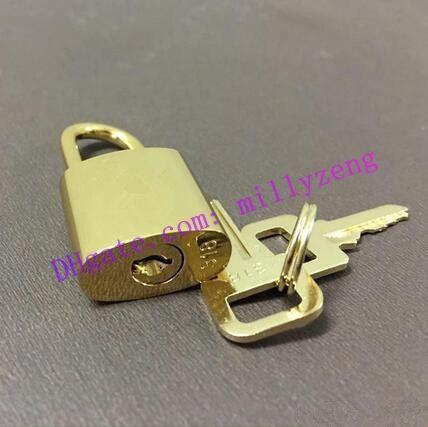 قفل الأمتعة قفل أمان لون معدني أقفال ولون مفاتيح مختلفة حقيبة قفل حقيبة يد أقفال