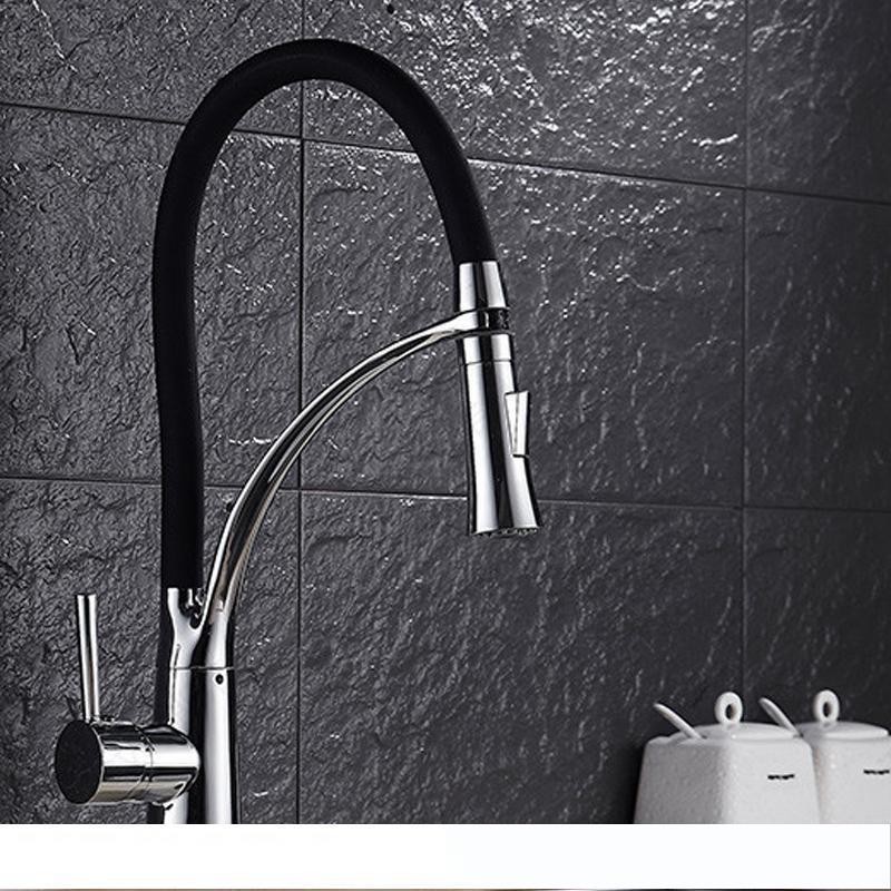 Swivel Spout Oil Rubbed Bronze Kitchen Faucets Water Tap  Sink Basin Faucet