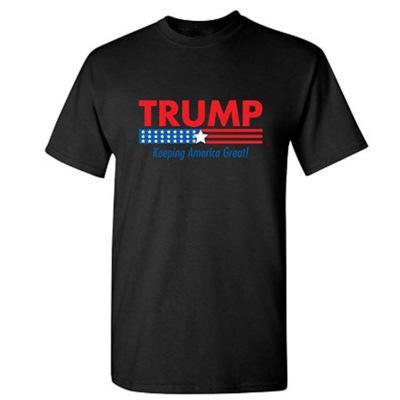 2020Trump Gedrucktes T-Shirt Trump2020 T-Shirt Halten Sie Amerika Große Euro-Größe XS-XXXXL Customized Printed Großhandel 20022502X Stellen