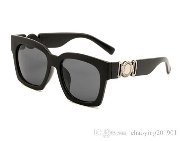 2019 óculos de sol de luxo para homens espelho verde lente vintage óculos de sol óculos acessórios mulheres 5362