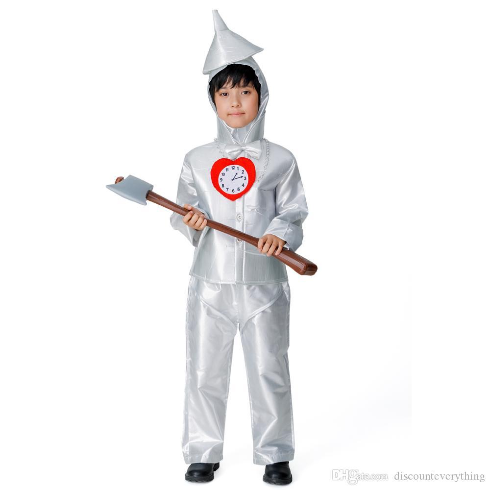 Brand New The Wizard of Oz Tin Man Child Halloween Costume