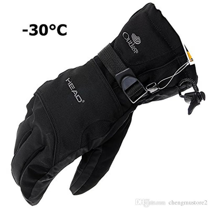 Les hommes et des gants de ski en plein air général des gants de moto des femmes coupe-vent, imperméable à l'eau, preuve froid, chaud gants d'hiver en plein air vélo