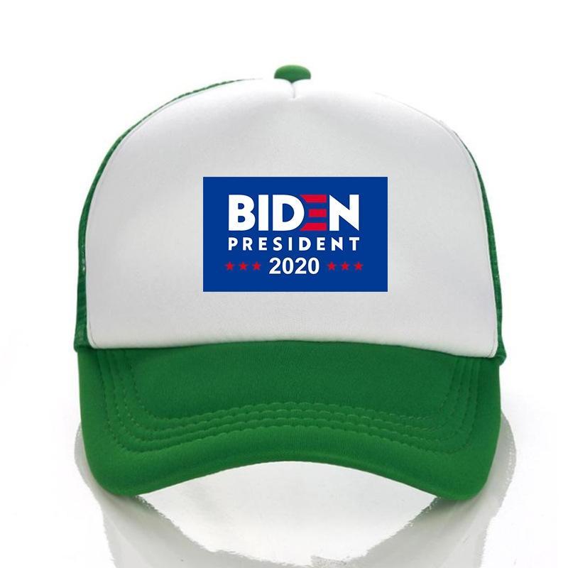 Biden Cap Maske Make America Great Again 3D-Stickerei-Baseball-Mütze Abnehmbarer Außen transparente Schutzschicht Hut Masken Gesichts-Schild Ljja404 # 74