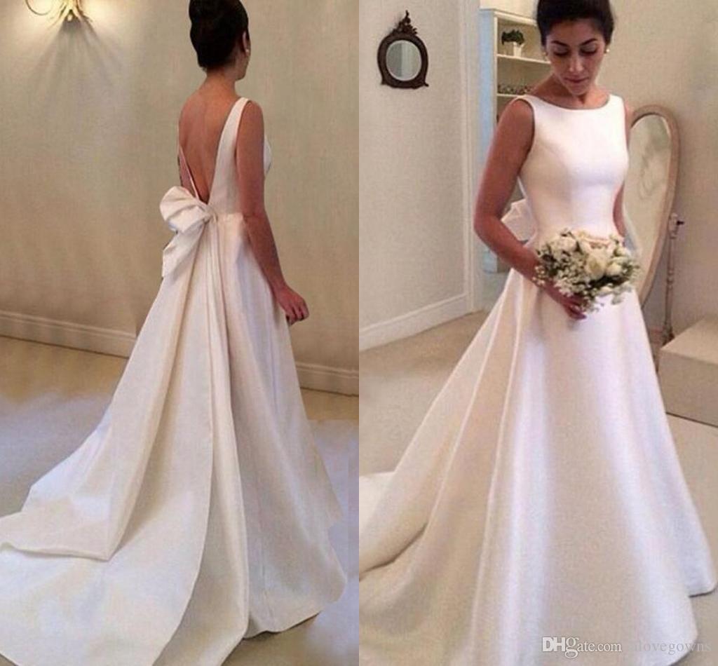 2019 Sexy Robes De Mariée En Satin Pas Cher Robes De Mariée En Dentelle Pays Plus La Taille Robe De Mariée Robe de mariée robes de mariée