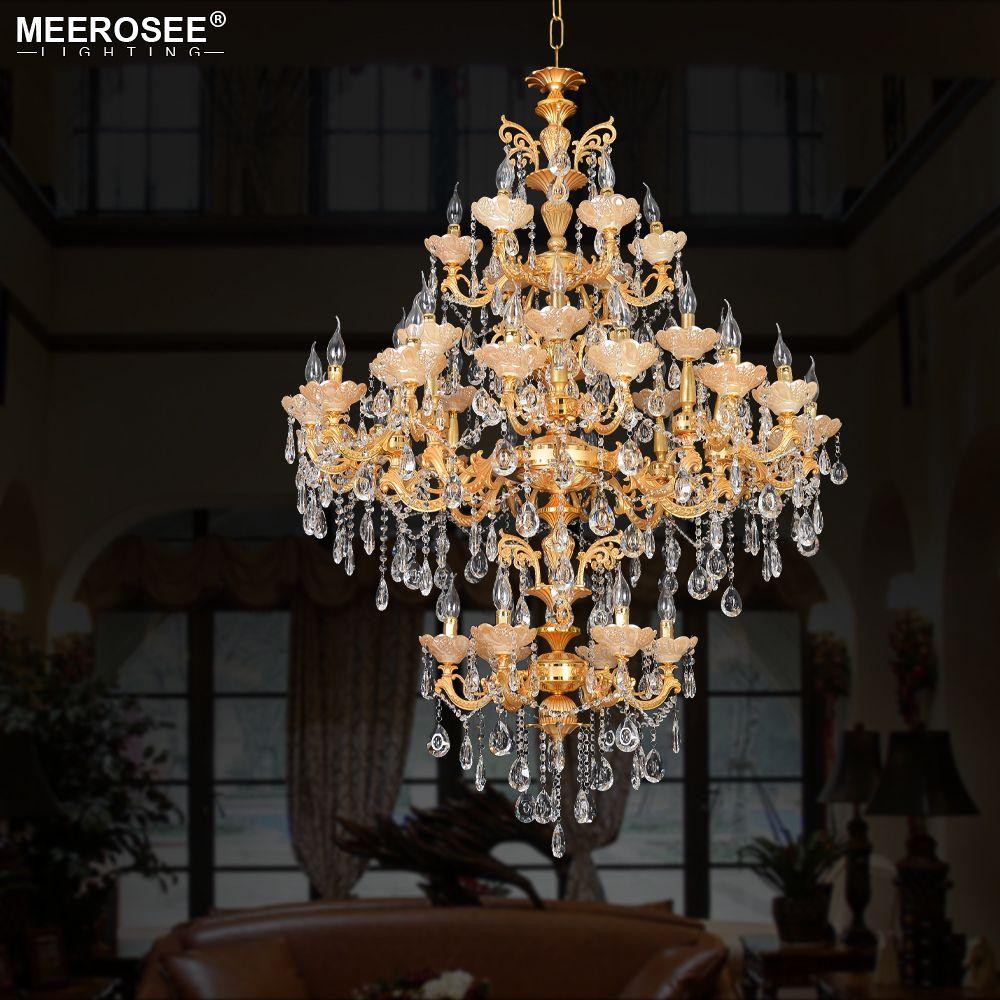 Современная хрустальная люстра лампа золотая подвеска Lustres de Cristal для гостиной ресторан отель проект светильников крытое освещение