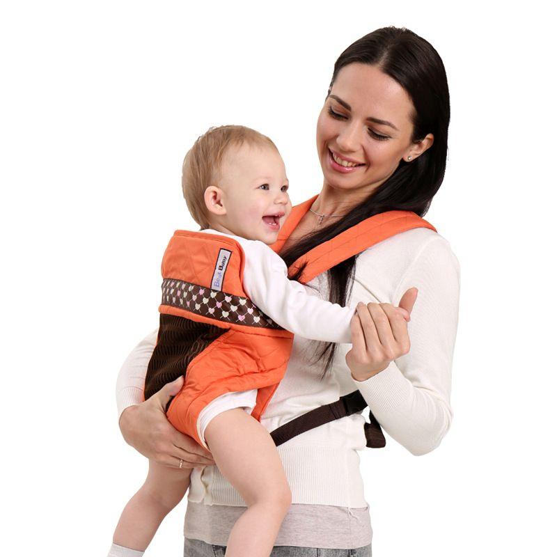 Réglable 0-36M ergonomique Sac à dos portable Porte-bébés écharpe porte-bébé Wrap coton enfant nouveau-né Sac Kangourou Hipseat