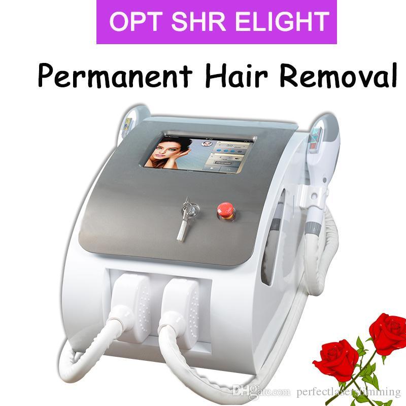 Optar o equipamento da remoção do cabelo do laser do IPL da máquina da remoção do cabelo Elight rejuvenescer o equipamento da beleza da remoção do cabelo do laser do ipl da remoção do cabelo