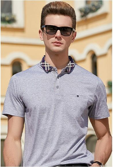 2020 designer luxury men's short-sleeved summer new fashion trend work POLO shirt loose loose lapel pullover T-shirt 4 colors size M-3xL-02