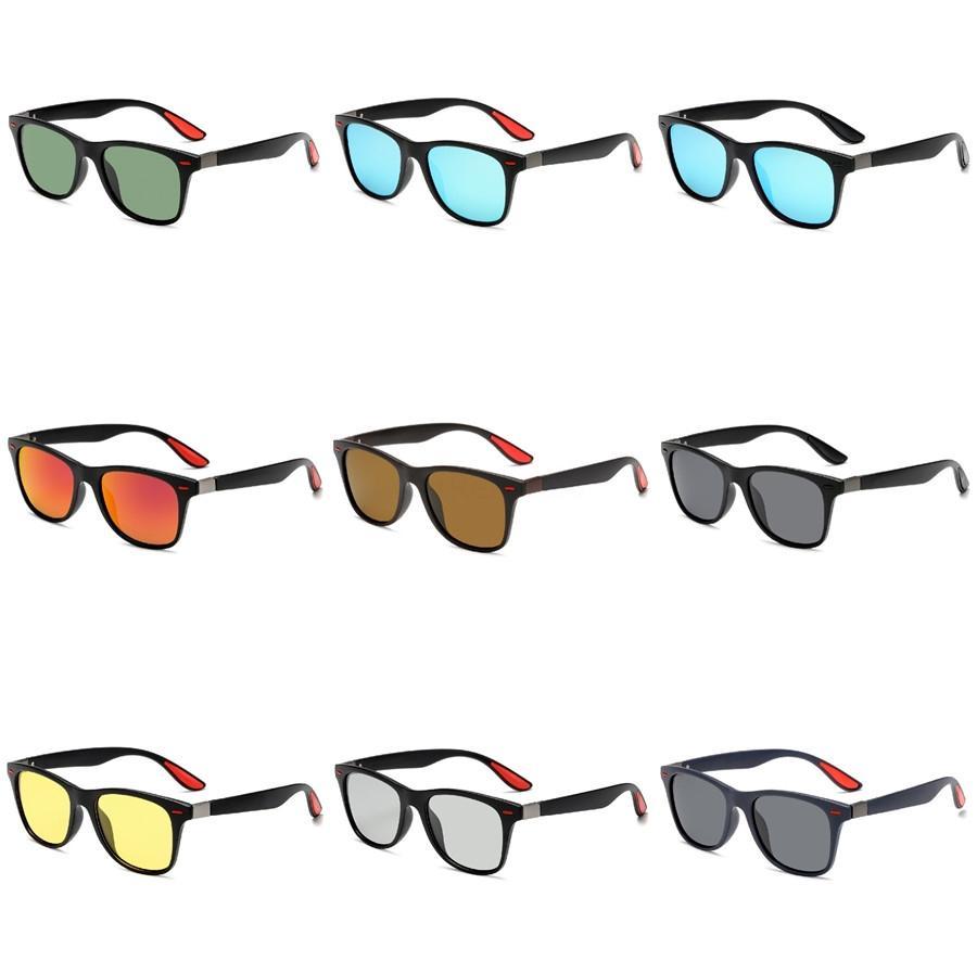 Dsgn Co. 2020 Lunettes de soleil mode moderne pour les hommes et les femmes élégant Pilot Cadre 7 Couleur Celebrity Lunettes de soleil UV400 # 708