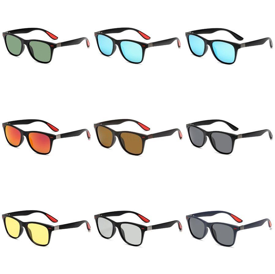 Dsgn Co. 2020 gafas de sol modernas moda para hombres y mujeres con estilo del marco Piloto 7 celebridad del color de los vidrios de Sun Uv400 # 708