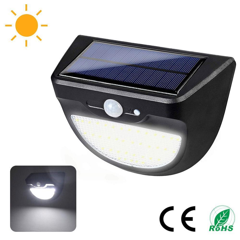 Brelong Solar Super Bright Открытый водонепроницаемый свет стены 37 СИД солнечный датчик движения 3 Ways Garden Garden Light