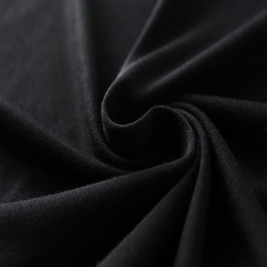 T-shirt de base de la moitié de la manche de taille moyenne Modal femmes minces en vrac couleur unie Qingdao femmes