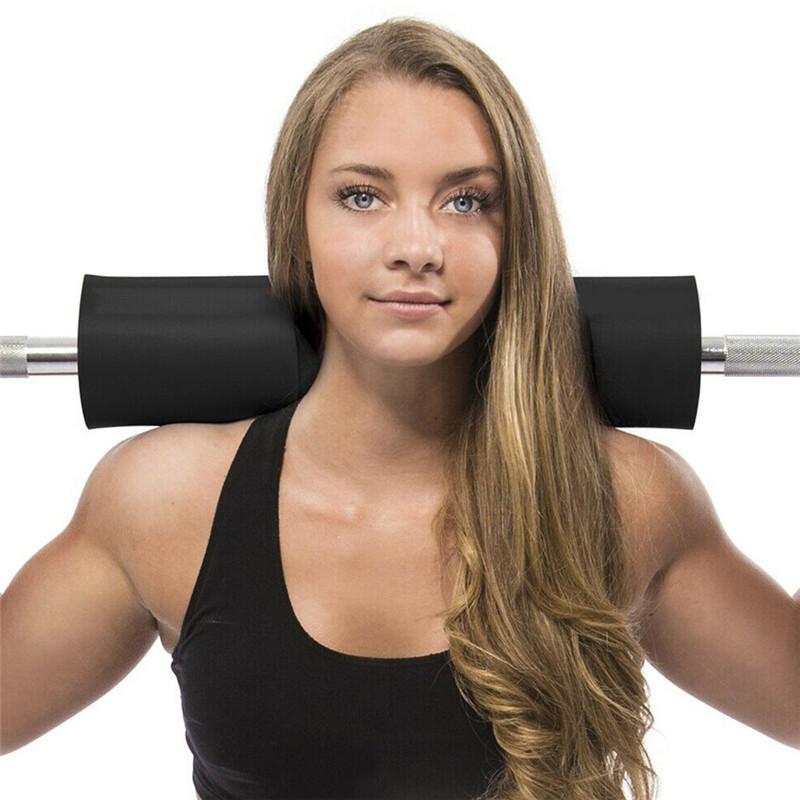 Morbido Schiuma Squat sostiene il peso di sollevamento Bilanciere Pad Gym Bilanciere spalla rilievo di sostegno della spalla 1PCS