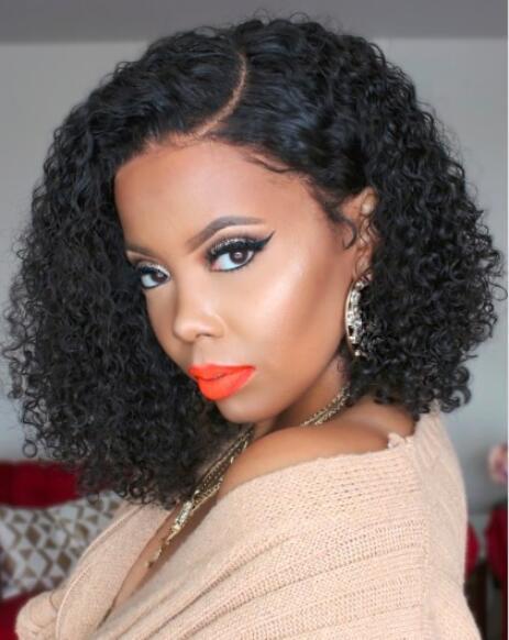 Популярная Европа Африка Дама завитый парик Нового Устойчив Синтетический парик волосы для женщин высокого класса Rose Внутреннего Net парики