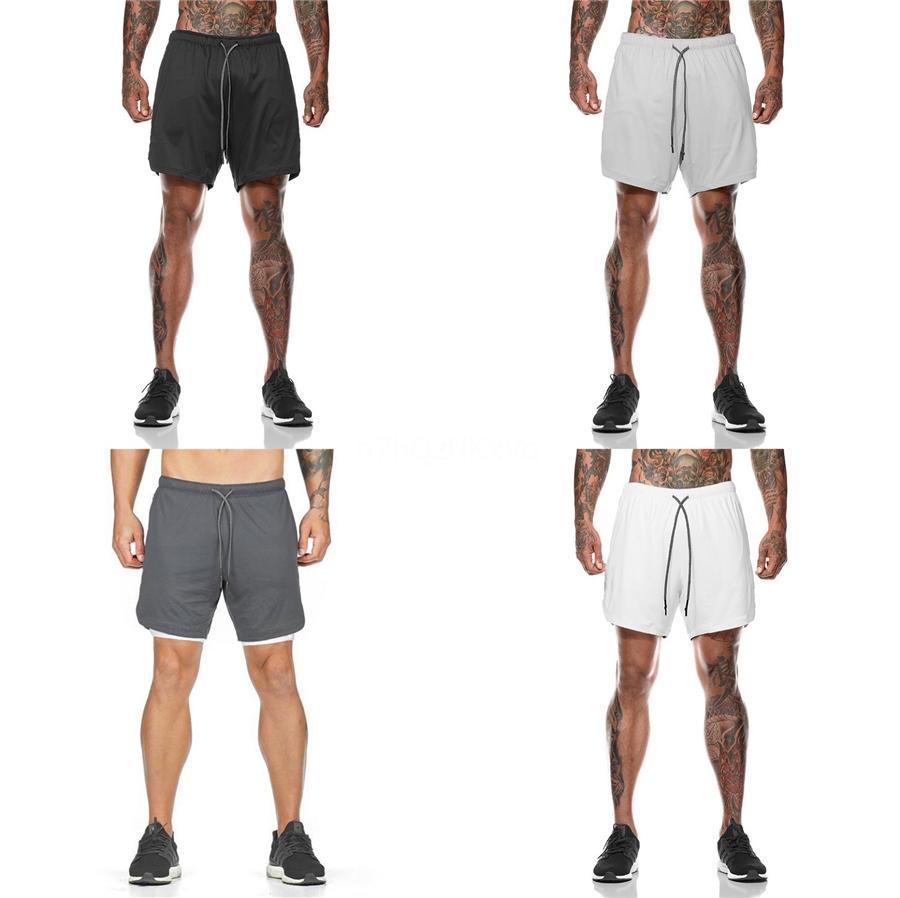 10 Цвет 20Ss новые мужские дизайнер двойные легкие бордшорты открытый фитнес-тренировки марафонцев быстросохнущие шорты Европы и Америки #83